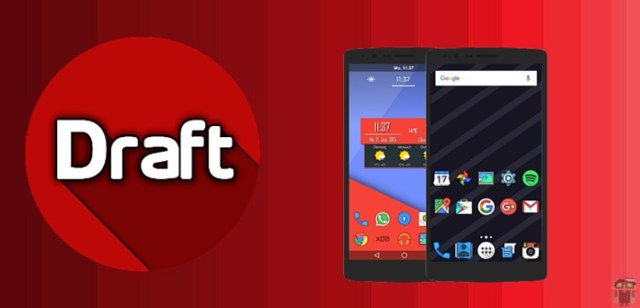 Image result for Draft – Icon Pack APK